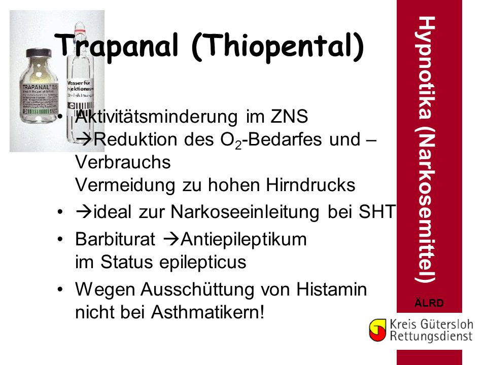 Trapanal (Thiopental)
