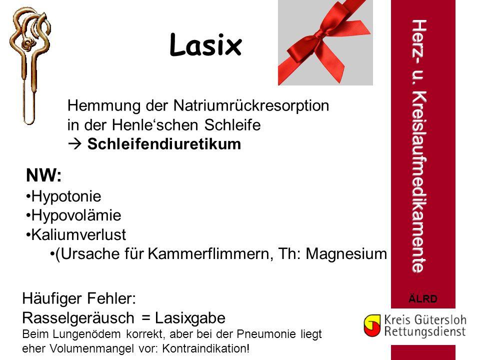 Lasix Herz- u. Kreislaufmedikamente NW: