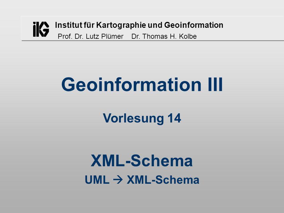 XML-Schema UML  XML-Schema