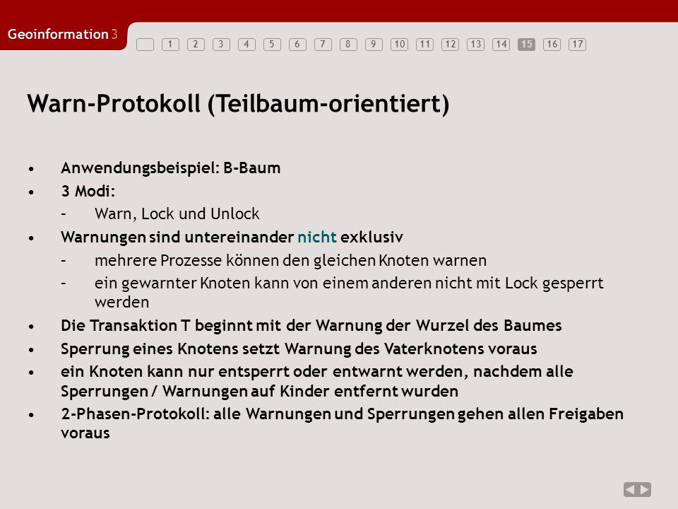 Warn-Protokoll (Teilbaum-orientiert)