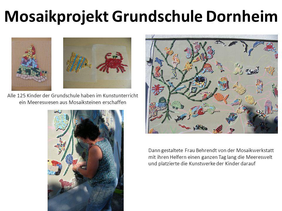 Mosaikprojekt Grundschule Dornheim