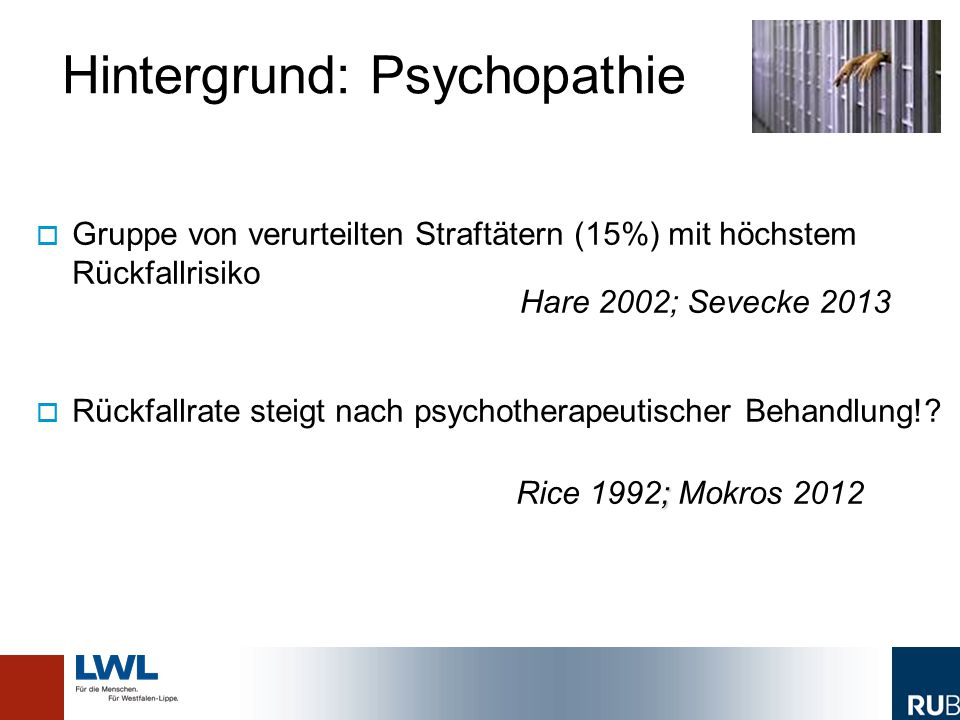Hintergrund: Psychopathie