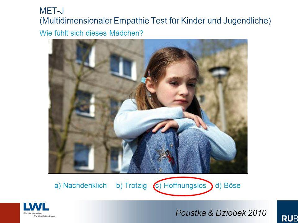 MET-J (Multidimensionaler Empathie Test für Kinder und Jugendliche)