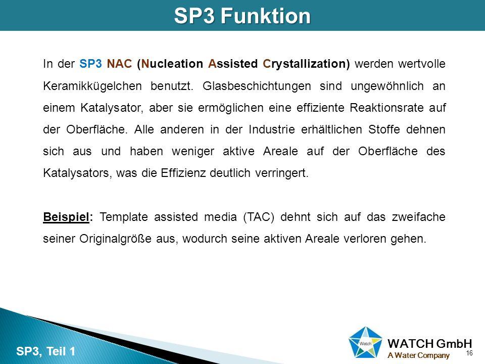 SP3 Funktion