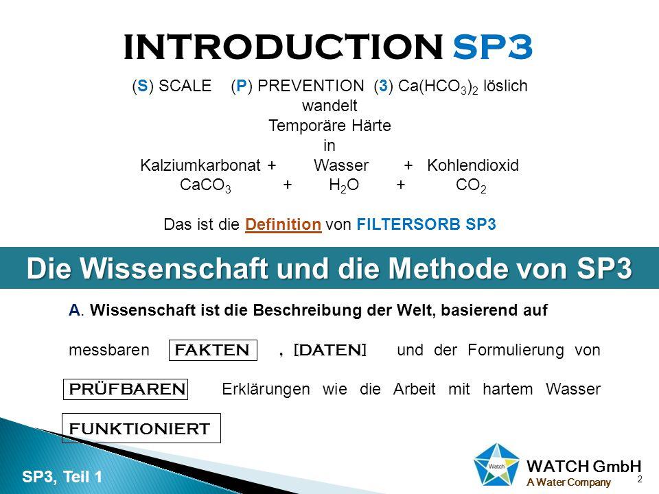 Die Wissenschaft und die Methode von SP3