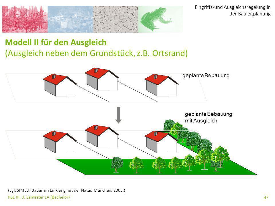 Eingriffs-und Ausgleichsregelung in der Bauleitplanung