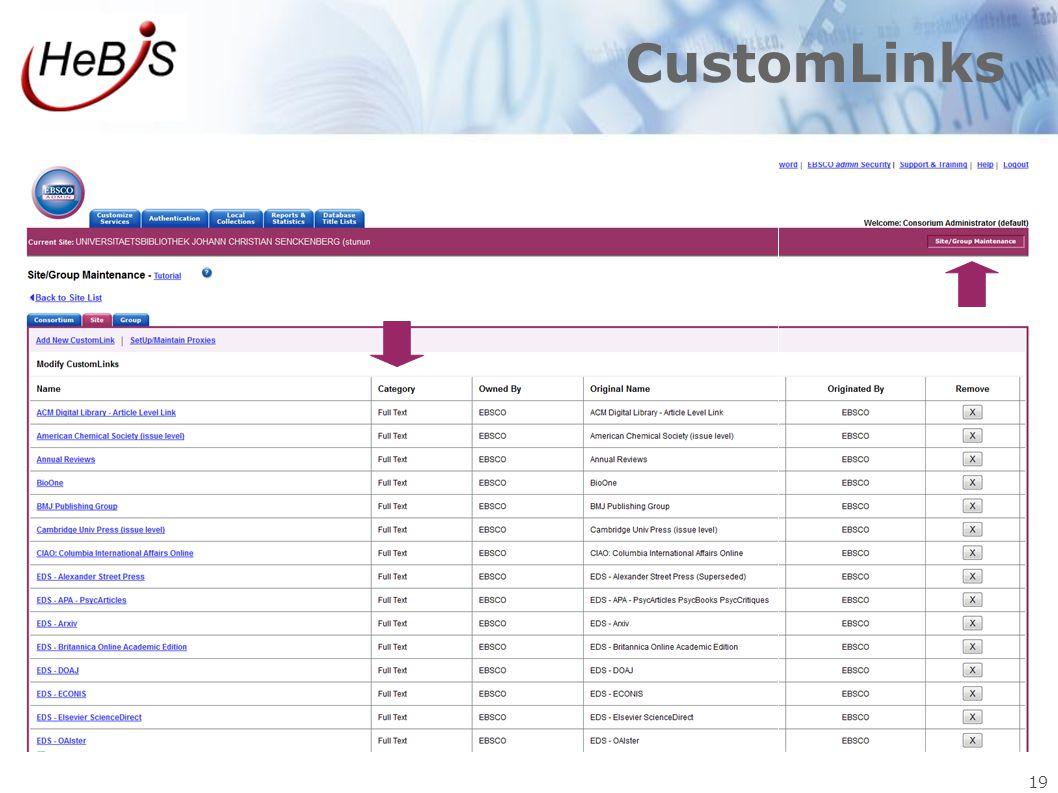 CustomLinks 19 19