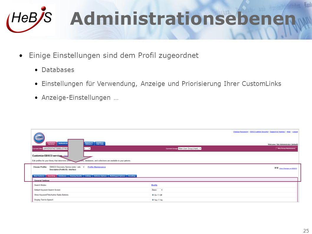 Administrationsebenen