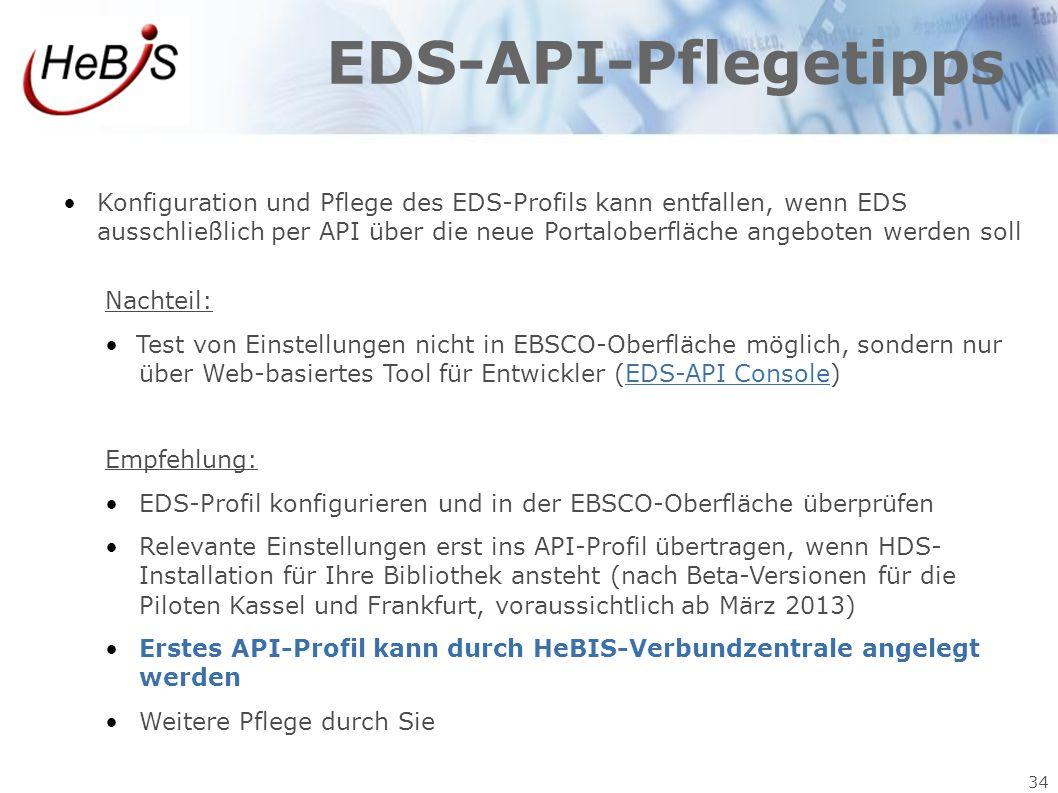 EDS-API-Pflegetipps