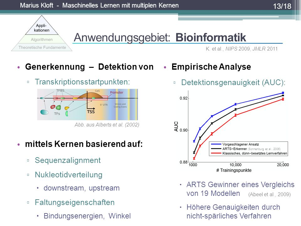 Anwendungsgebiet: Bioinformatik