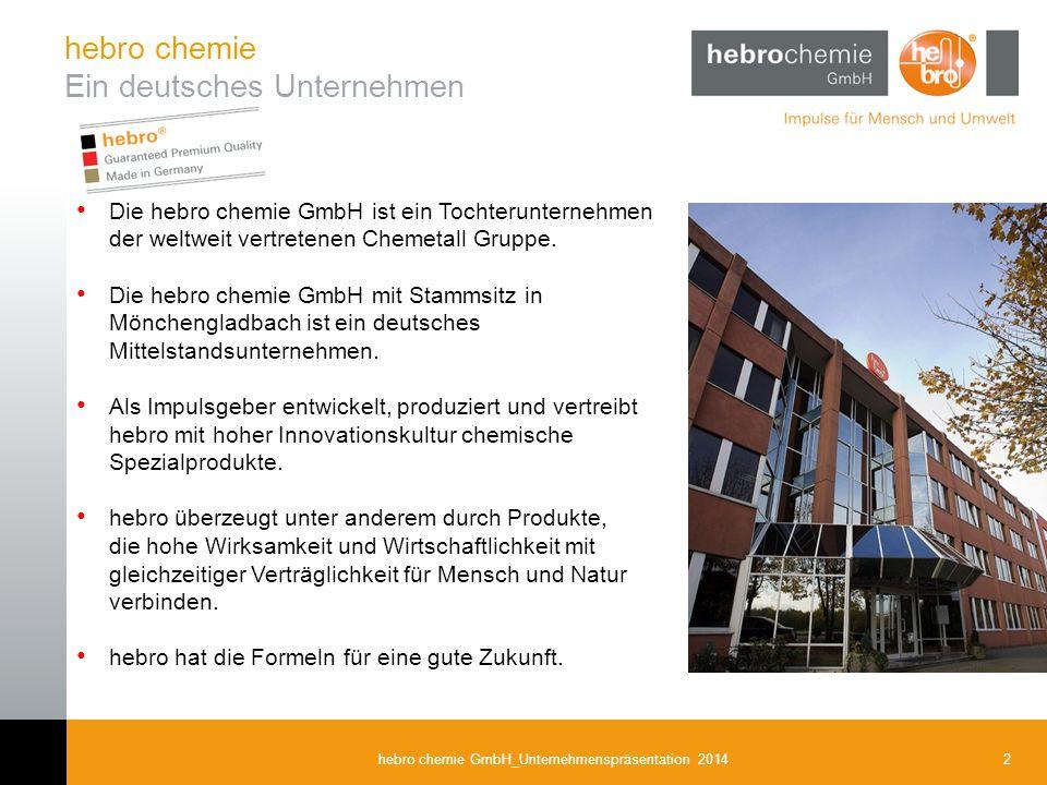 Ein deutsches Unternehmen