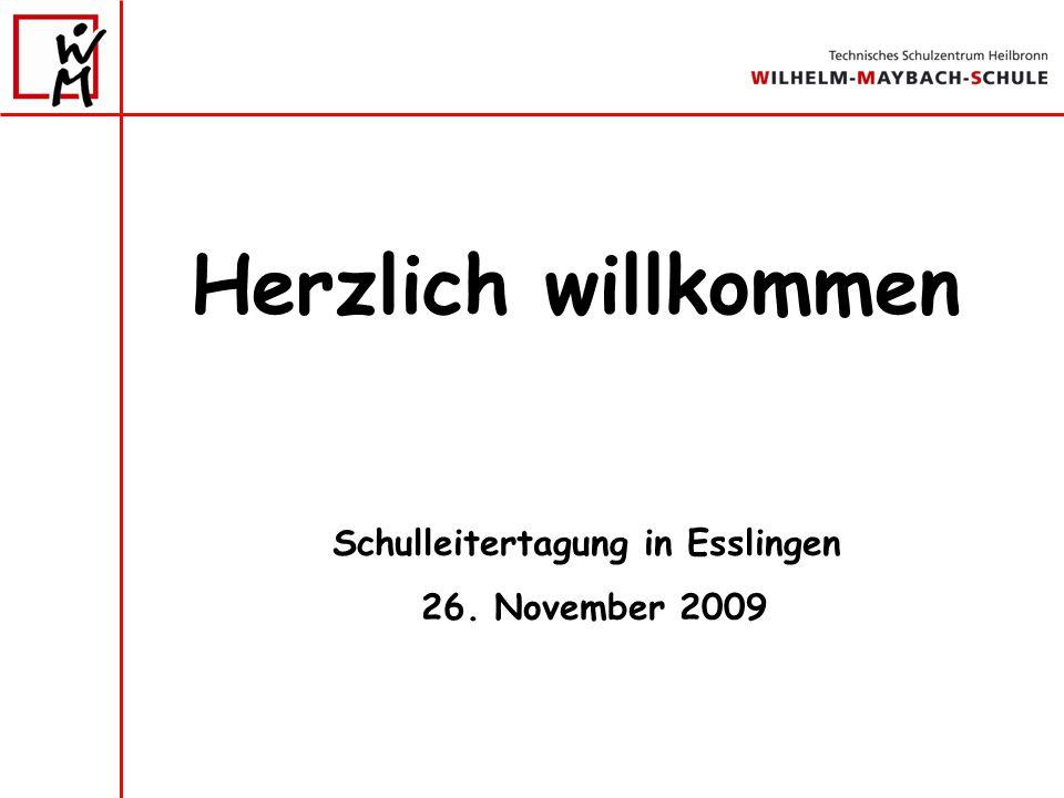 Schulleitertagung in Esslingen