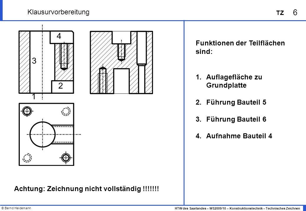 Achtung: Zeichnung nicht vollständig !!!!!!!