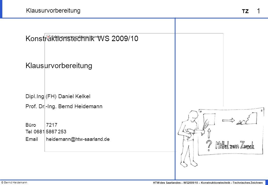 Konstruktionstechnik WS 2009/10