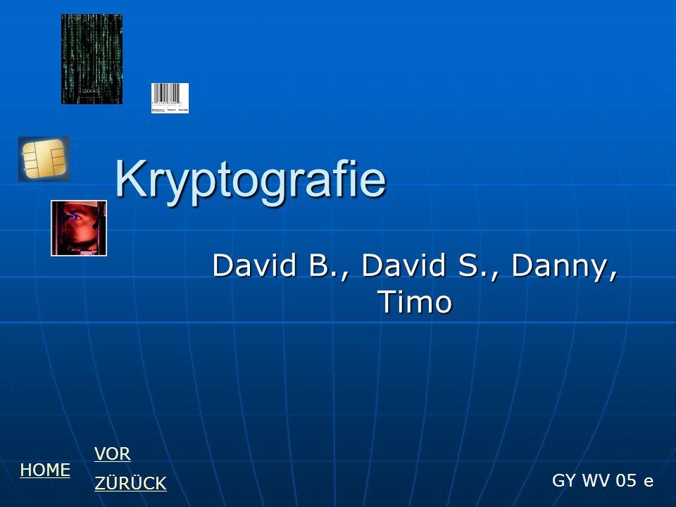 David B., David S., Danny, Timo