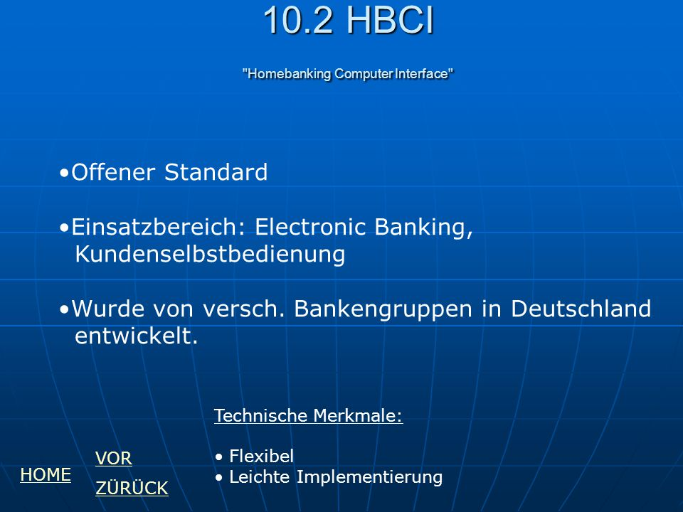 10.2 HBCI Homebanking Computer Interface