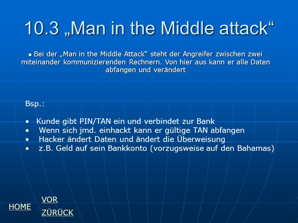 "10.3 ""Man in the Middle attack"