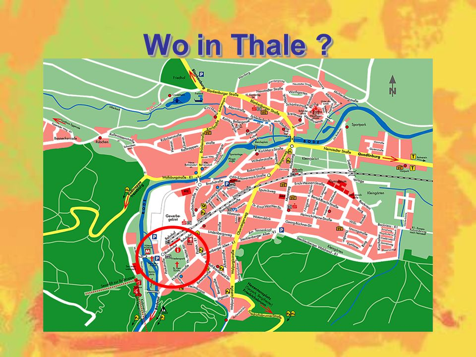 Wo in Thale