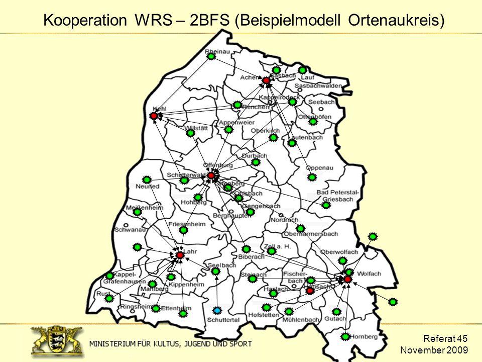 Kooperation WRS – 2BFS (Beispielmodell Ortenaukreis)