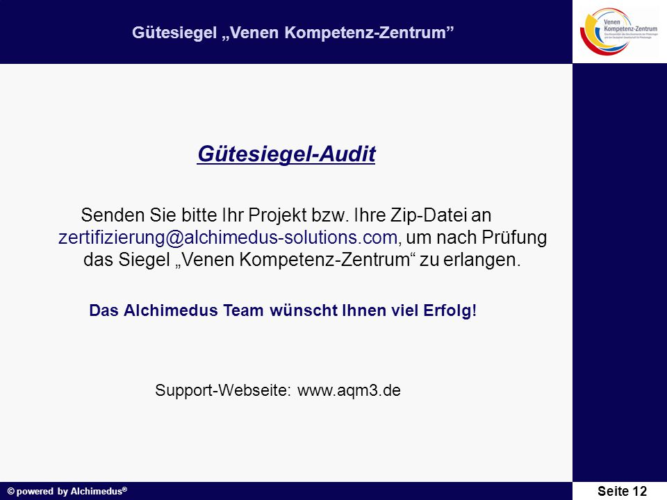 Gütesiegel-Audit