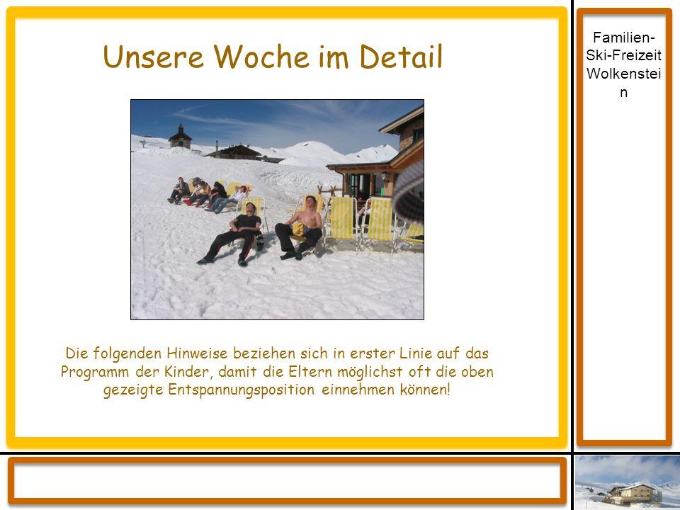 Familien-Ski-Freizeit Wolkenstein