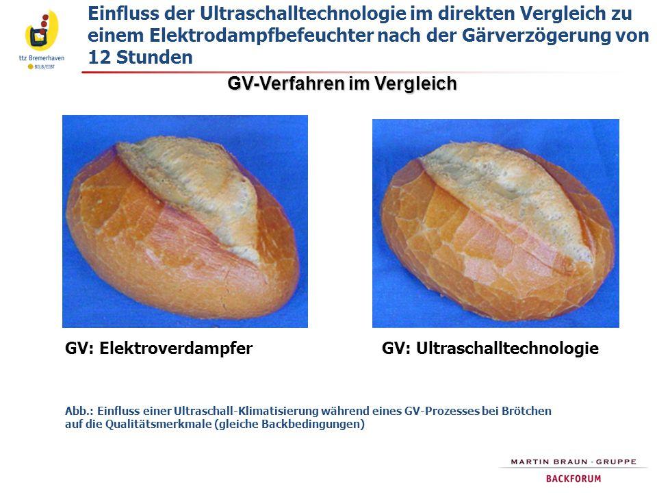 GV-Verfahren im Vergleich