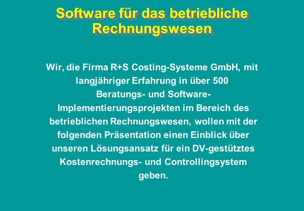 Software für das betriebliche Rechnungswesen