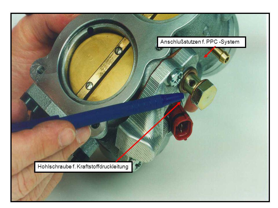 Anschlußstutzen f. PPC -System