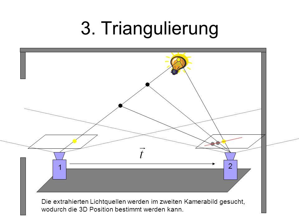 3. Triangulierung 1. 2.