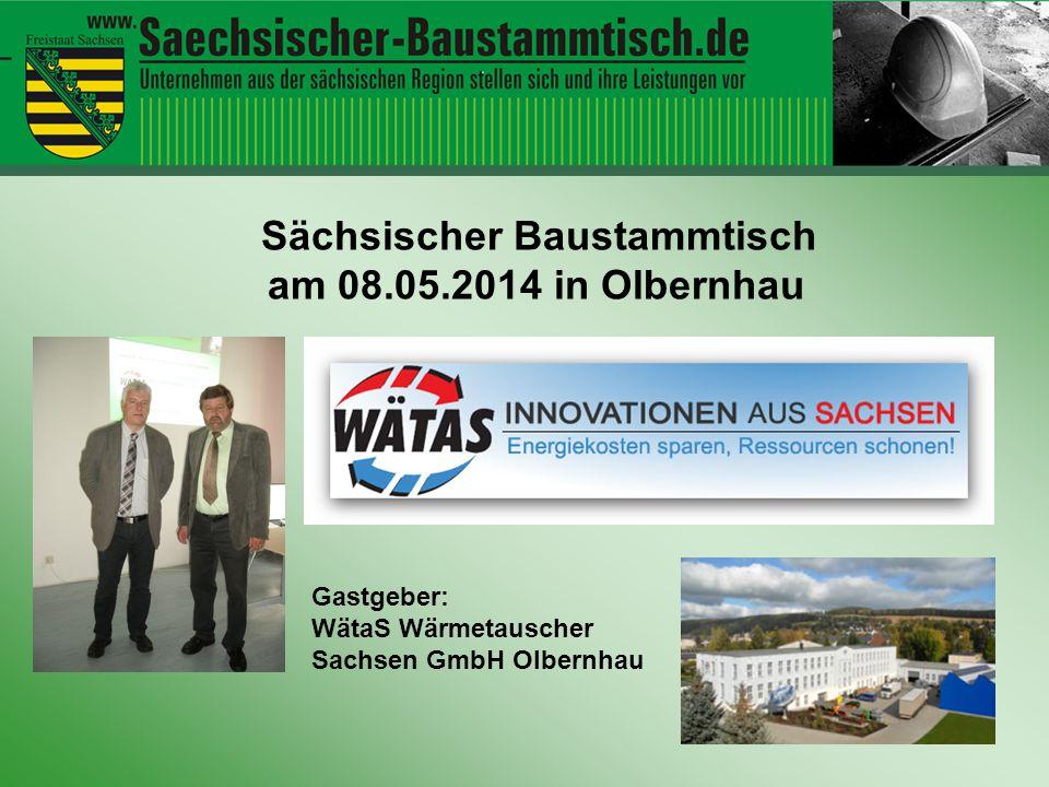 Sächsischer Baustammtisch am 08.05.2014 in Olbernhau