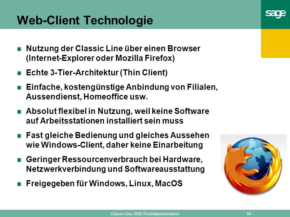 Web-Client Technologie