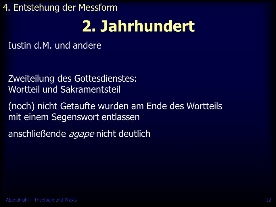 4. Entstehung der Messform