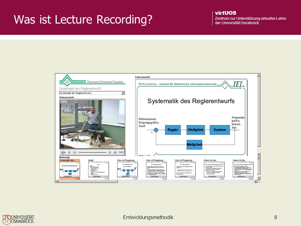 Was ist Lecture Recording