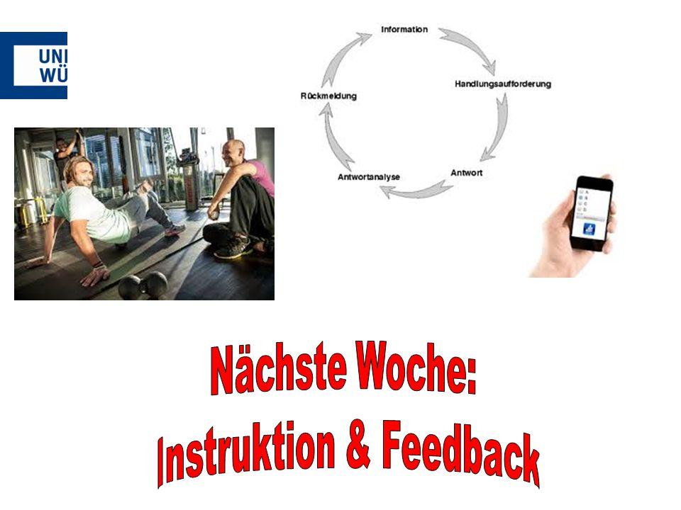 Instruktion & Feedback