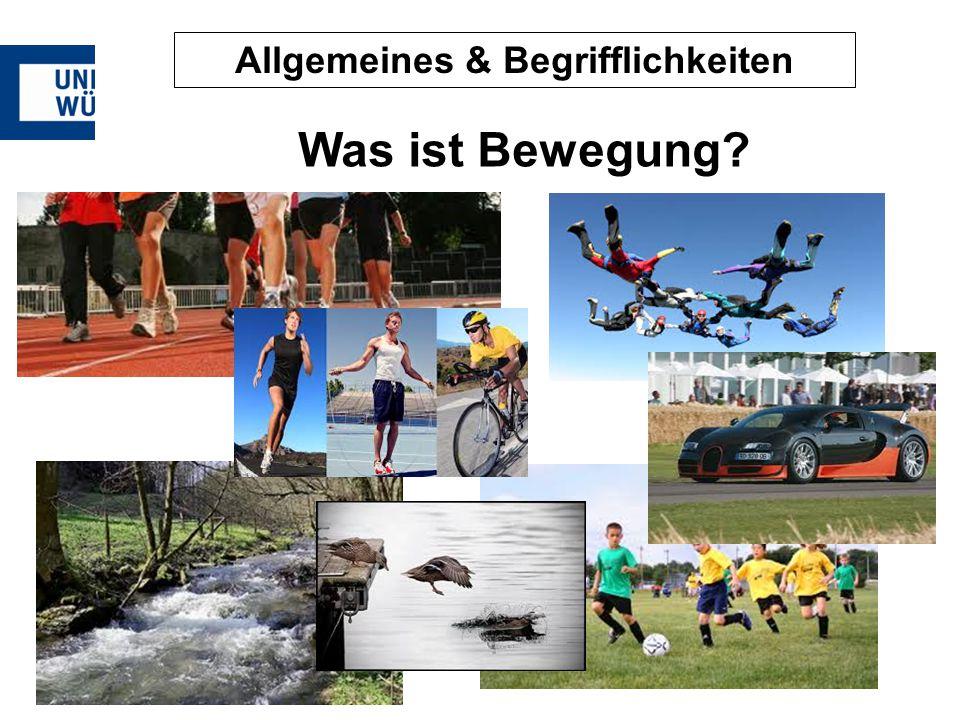 Allgemeines & Begrifflichkeiten