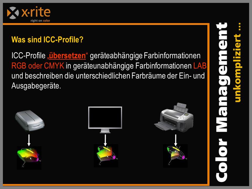 Was sind ICC-Profile