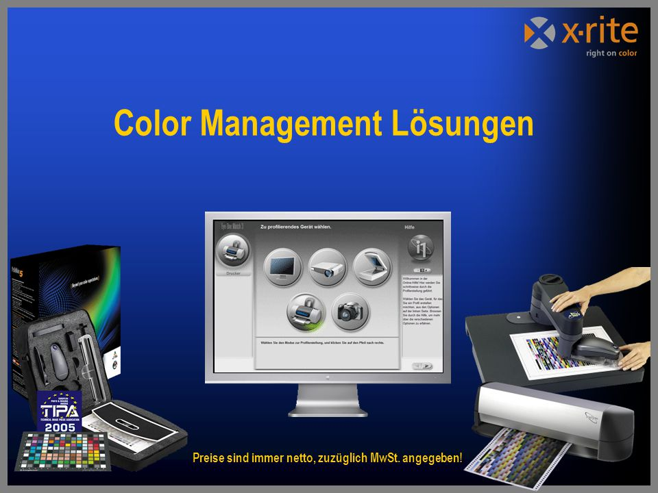 Color Management Lösungen
