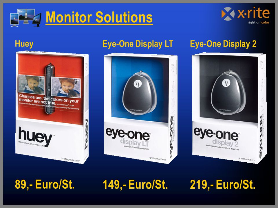 Monitor Solutions Huey Eye-One Display LT Eye-One Display 2
