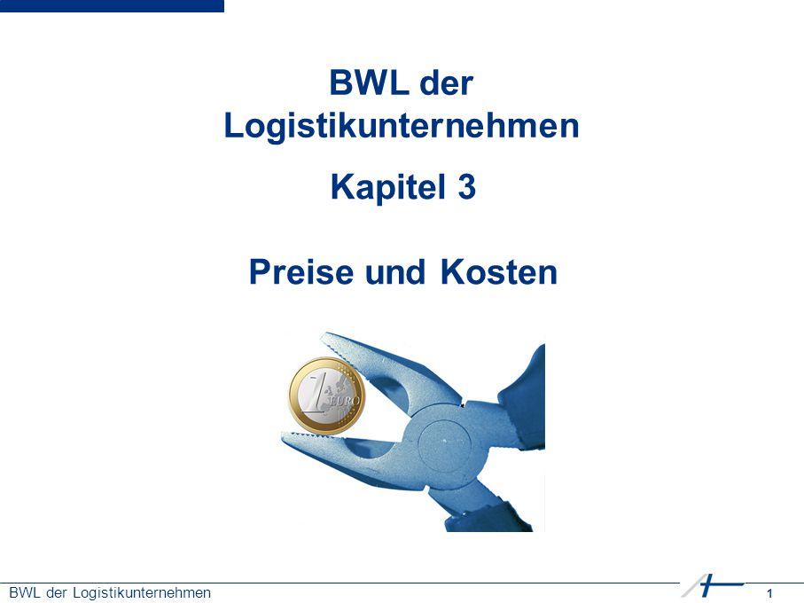BWL der Logistikunternehmen