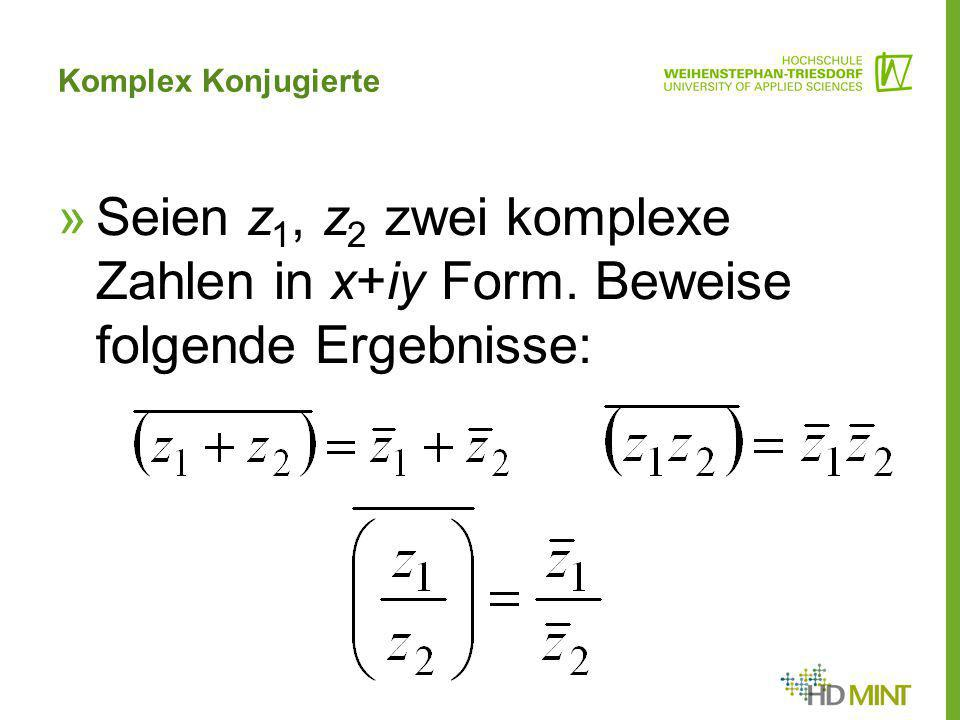 Fein Algebra 3 4 Komplexen Zahlen Arbeitsblatt Antworten Galerie ...