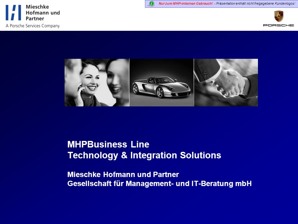 MHPBusiness Line Technology & Integration Solutions