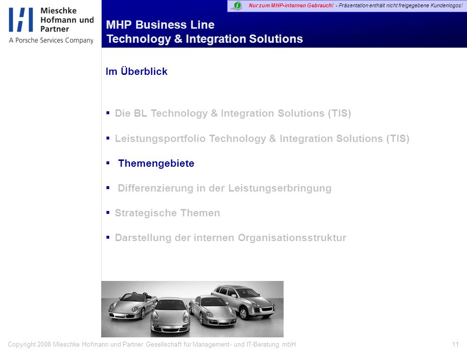 Die BL Technology & Integration Solutions (TIS)