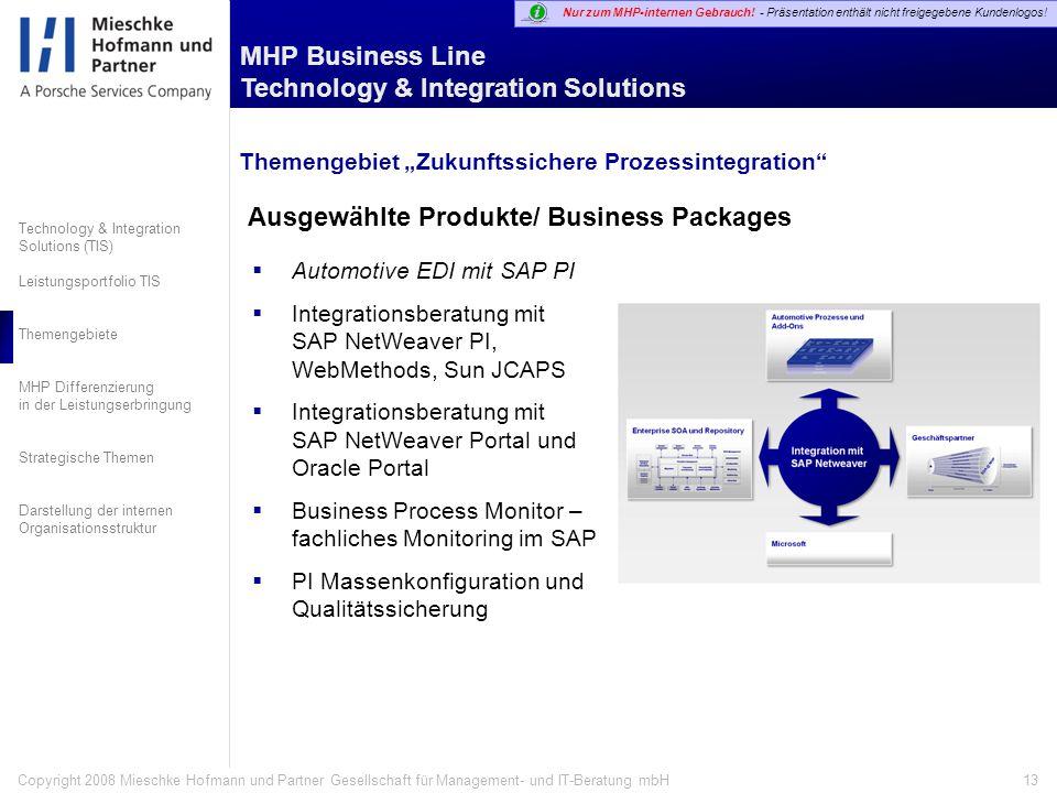 Ausgewählte Produkte/ Business Packages