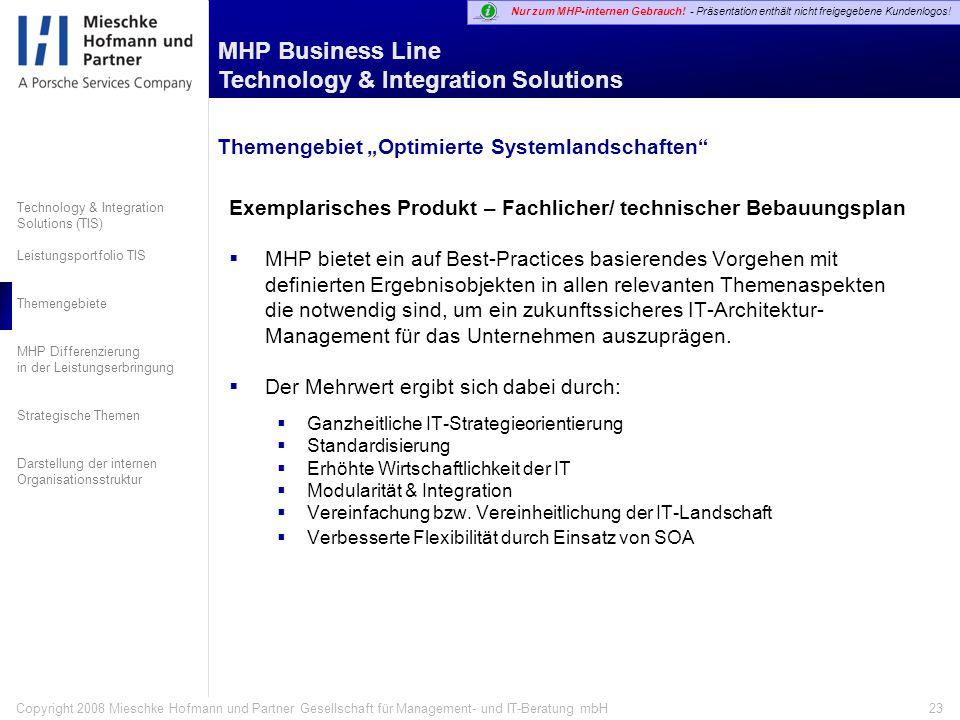 """Themengebiet """"Optimierte Systemlandschaften"""