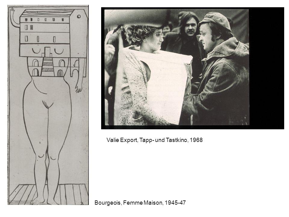 Valie Export, Tapp- und Tastkino, 1968