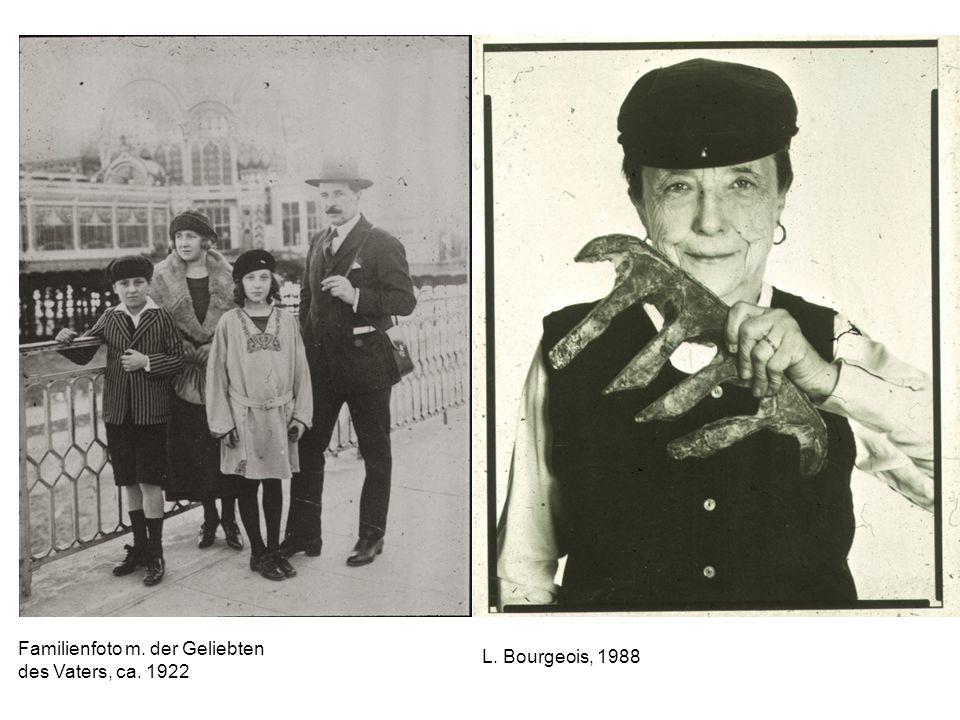 Familienfoto m. der Geliebten des Vaters, ca. 1922