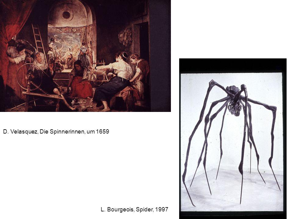 D. Velasquez, Die Spinnerinnen, um 1659