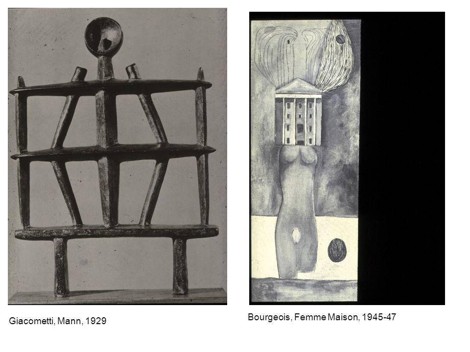 Bourgeois, Femme Maison, 1945-47