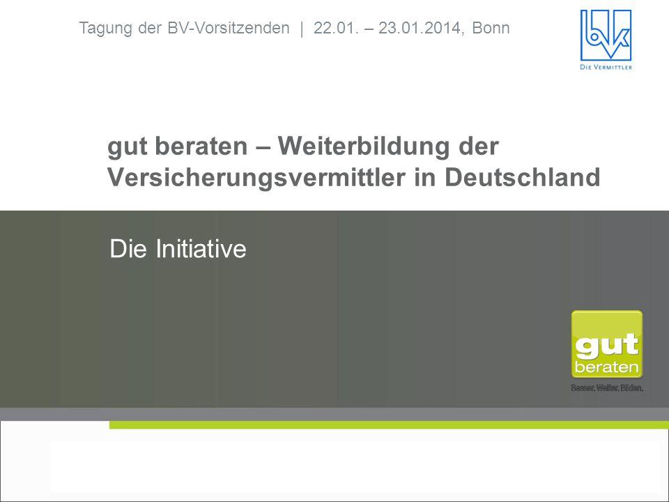 gut beraten – Weiterbildung der Versicherungsvermittler in Deutschland