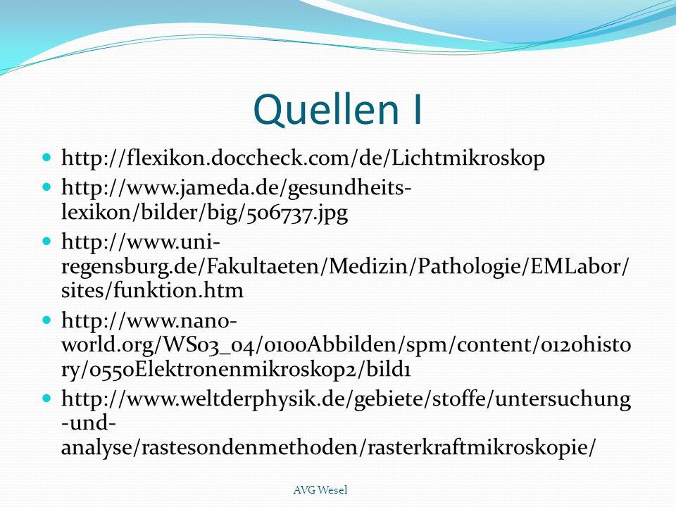 Quellen I http://flexikon.doccheck.com/de/Lichtmikroskop